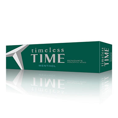 Timeless Time Menthol 1 Carton