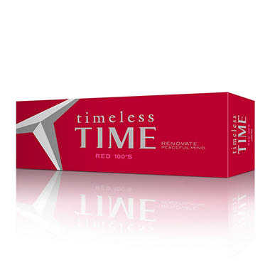 Timeless Time Red 100s Cigarettes Box (200 ct.)