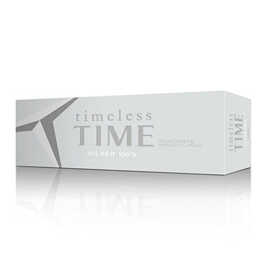 Timeless Time Silver 100s 1 Carton