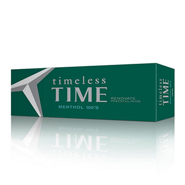 Timeless Time Menthol 100s 1 Carton
