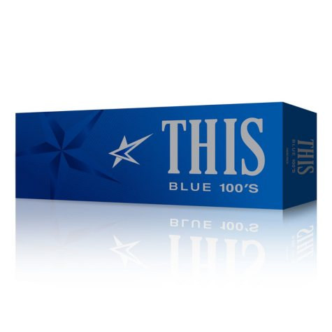 This Blue 100's Box (20 ct., 10 pk.)