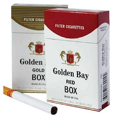 Golden Bay Silver 100s  1 Carton
