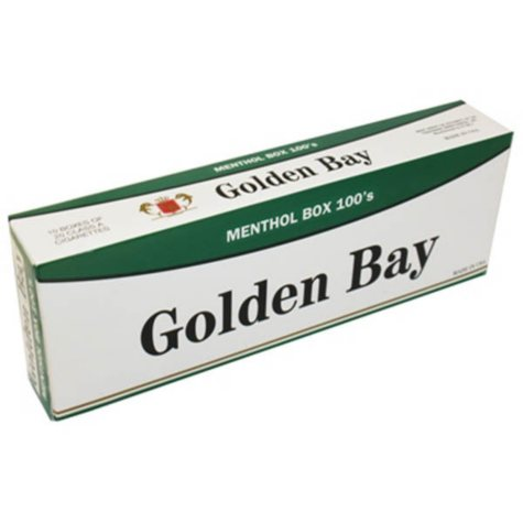 Golden Bay Menthol 100s  1 Carton