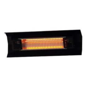 Black Wall Mounted Infrared Patio Heater