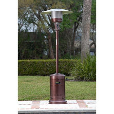 Best Seller Fire Sense 46,000 BTU Hammer Tone Bronze Finish Commercial Patio  Heater