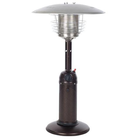 Hammer Tone Bronze Finish Tabletop Patio Heater