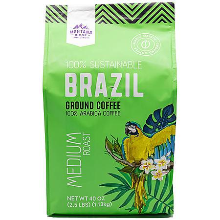 Montana Ridge Brazil Ground Coffee (40 oz.)