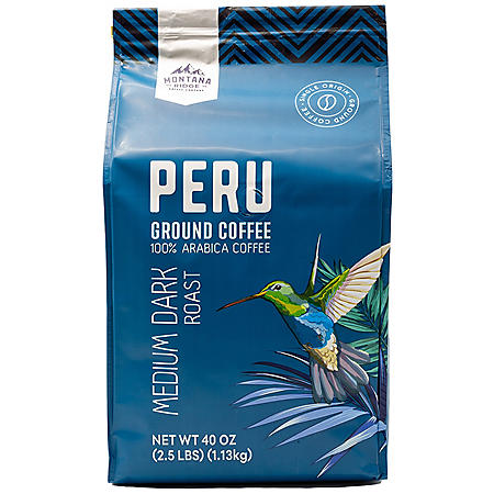 Mountain Ridge 100% Arabica Peru Ground Coffee (40 oz.)