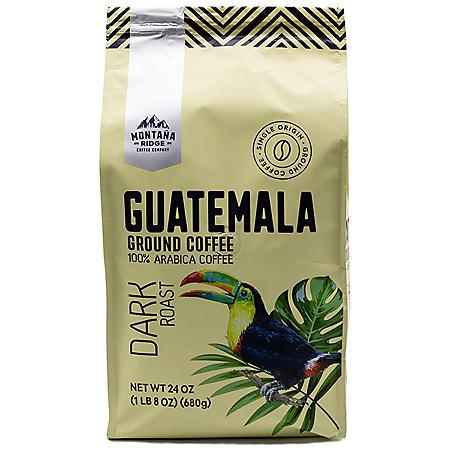 Montana Ridge Guatemala Ground Coffee, Dark Roast (24 oz.)