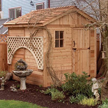 8' x 8' Outdoor Living Gardener Shed