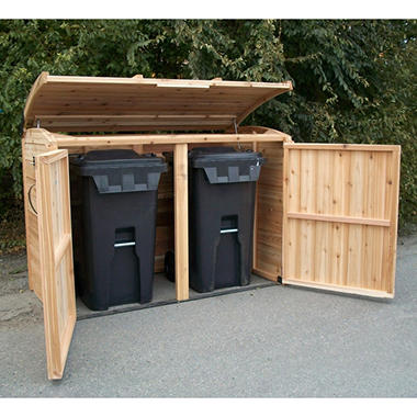 6 x 3 oscar waste management shed