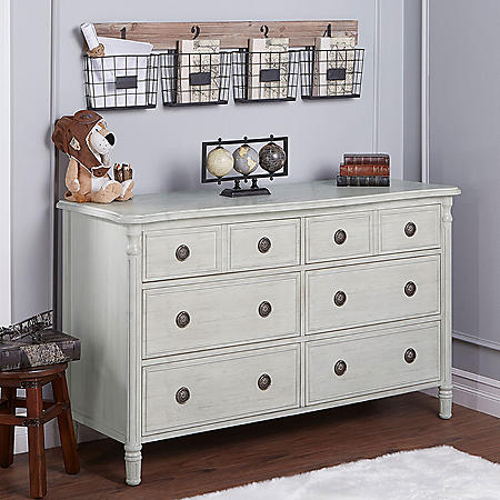 Evolur Julienne Double Dresser (Choose Your Color)