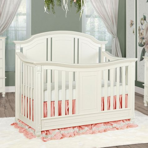 Evolur Adele 5-in-1 Convertible Crib, Creme Brulee