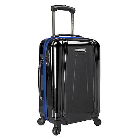 "U.S. Traveler 22"" USB Port EZ-Charge Carry-On Spinner"