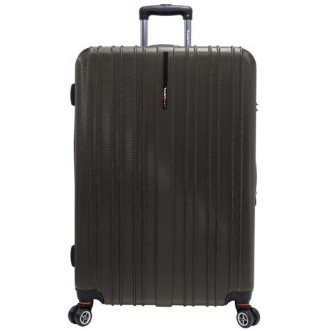 "Traveler's Choice 29"" Tasmania Spinner Luggage - Dark Brown"