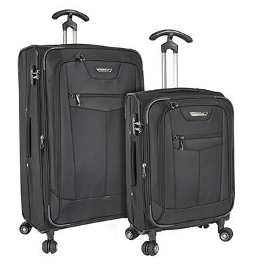 Traveler's Choice Clayton 2-Piece Spinner Luggage Set