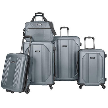 U.S. Traveler Bloomington 5-Piece Spinner Luggage Set
