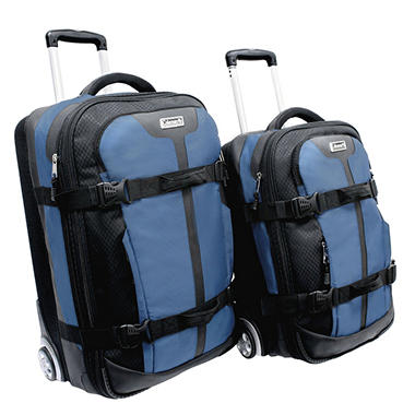Coleman Renegade 2-Piece Compression-molded Hard EVA Wheeled Luggage Set