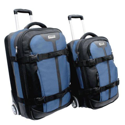 Coleman Renegade 2-Piece Compression-molded Hard EVA Wheeled Luggage Set