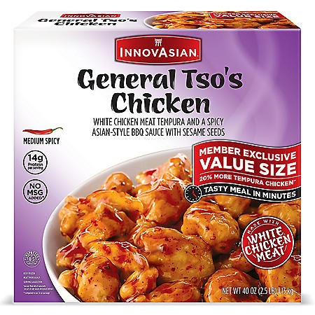 InnovAsian General Tso's Chicken, Frozen (40 oz.)