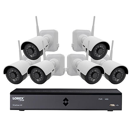 Lorex 6 Channel 1080p Dvr Surveillance System With 1tb
