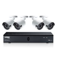 Lorex 4MP Super HD 4 Channel Security System with 1TB DVR and 4 Super HD 4MP Cameras