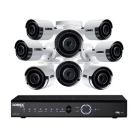Lorex 8-Channel 5MP NVR Surveillance System with 2TB Hard Drive, 8-Camera 5MP Outdoor Bullet Cameras
