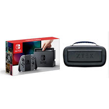 Nintendo Switch with ZTEK Charge Case