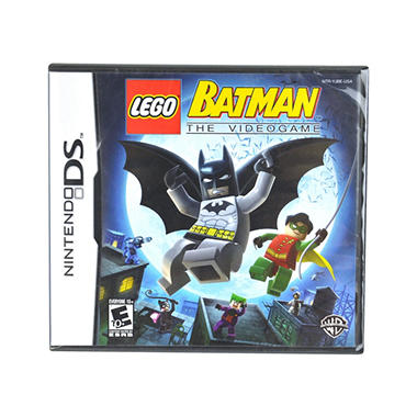 LEGO BATMAN NDS NDS VIDEO GAME