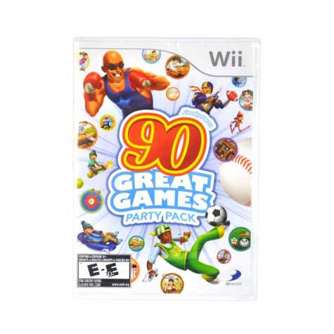 FAMILY PARTY 90 GAME WII VIDEO GAME