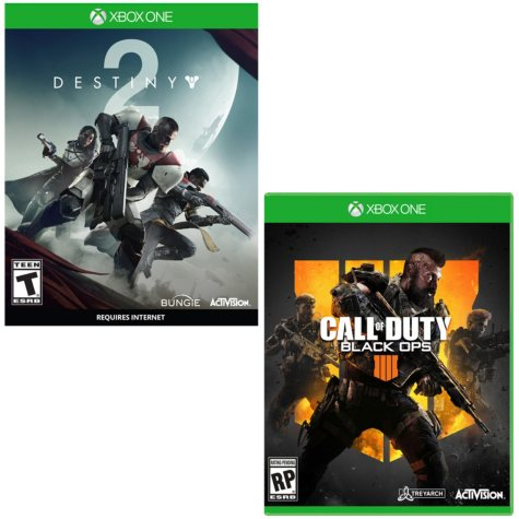 Destiny 2 + COD Black Ops 4 (Xbox One)