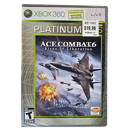 ACE COMBAT 6 FR X360 X360 VIDEO GAME