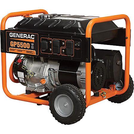 Generac 5500-Watt Portable Generator