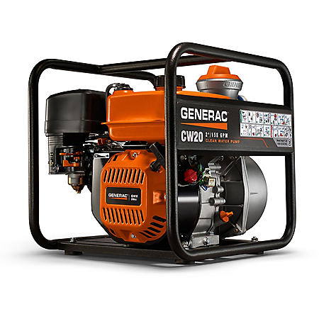 "Generac 2.0"" Clean Water Pump"