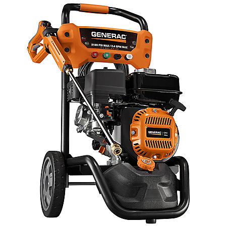 Generac 3100 PSI OneWash with PowerDial Gun Pressure Washer