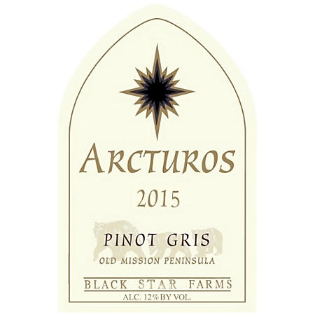 Black Star Farms Arcturos Pinot Gris (750 ml)