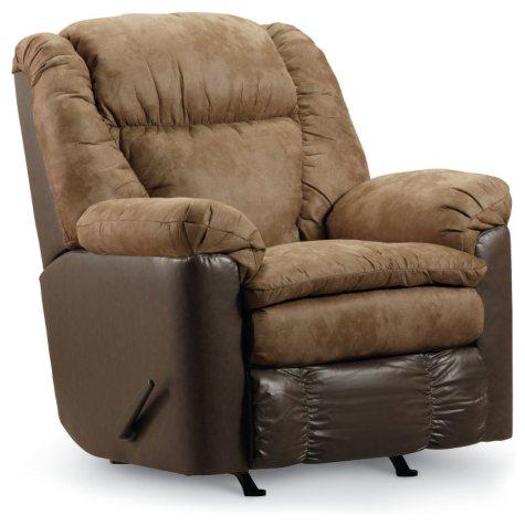 Lane Furniture William Rocker Recliner, Beige