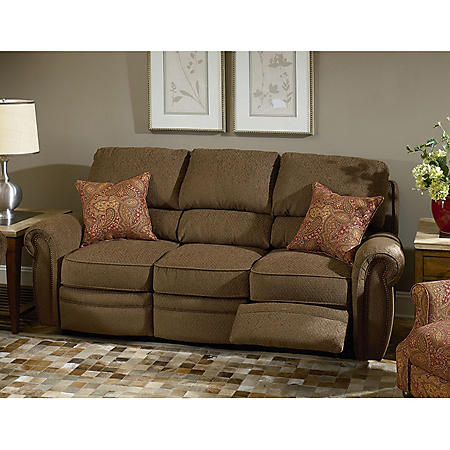 Lane Rockford Fabric Double Reclining Sofa