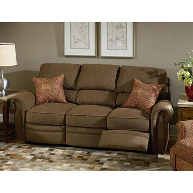 Merveilleux Lane Rockford Fabric Double Reclining Sofa