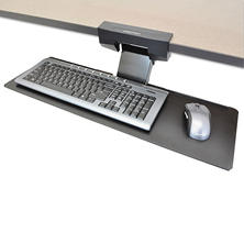 Ergotron Neo-Flex Underdesk Keyboard Arm, Black (27 x 9)