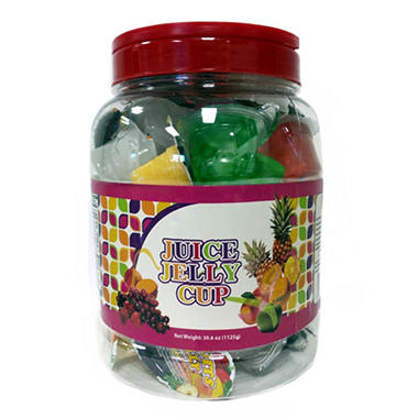 Happy Food Juice Jelly Cups (47.6 oz.)