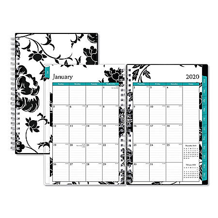"""Blue Sky Barcelona CYO Weekly/Monthly Planner, 8"""" x 5"""", 2020"""