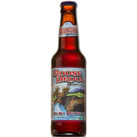 Big Sky Moose Drool Brown Ale (12 fl. oz. bottle, 12 pk.)