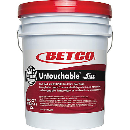Betco BET6060500 Untouchable SRT Floor Finish (5 gallon)
