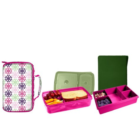 Fit & Fresh Bento Twin Pack (Assorted Colors)