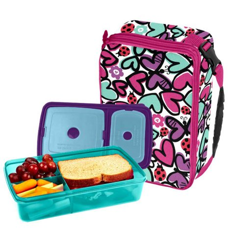 Fit & Fresh Bento Lunch Set (Assorted Patterns)