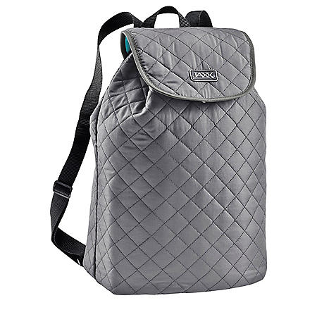JAXX Quilted FitPak Meal Prep Backpack (Various Colors)