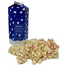 Snowy White Chocolate Popcorn -  8 oz. Box
