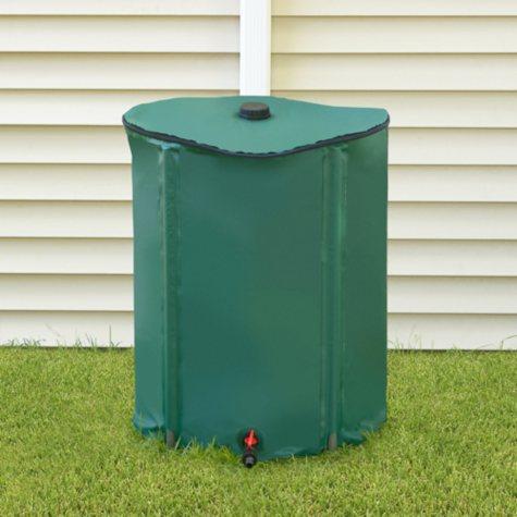 Portable Rain Barrel with Diverter - 52 gal.