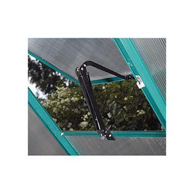 EasyGrow Greenhouse Vent with Auto Opener - Green